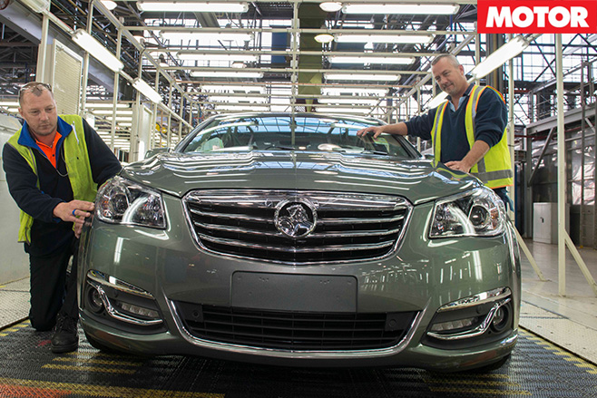 Holden announces end of production date