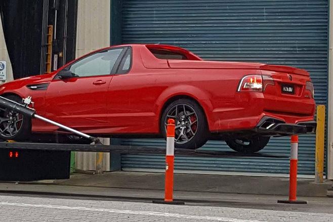 Holden -Ute -GTS-R-loading -onto -truck