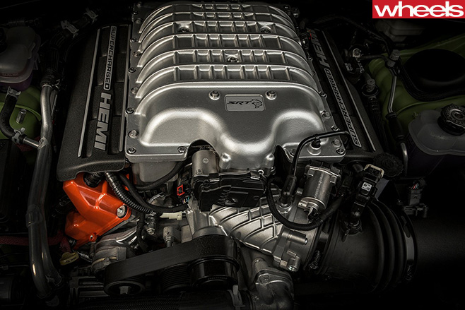 Hemi -SRT-Engine