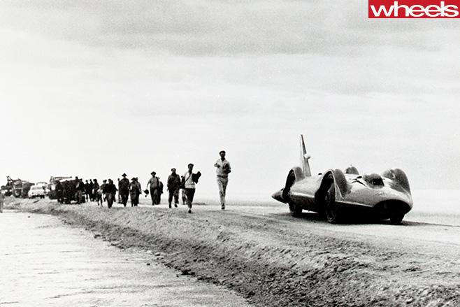 Donald -Campbell -race