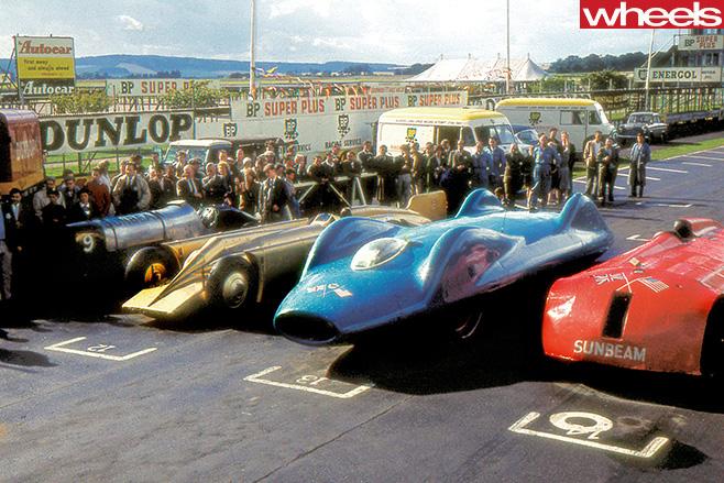 Donald -Campbell -Bluebird -race -line
