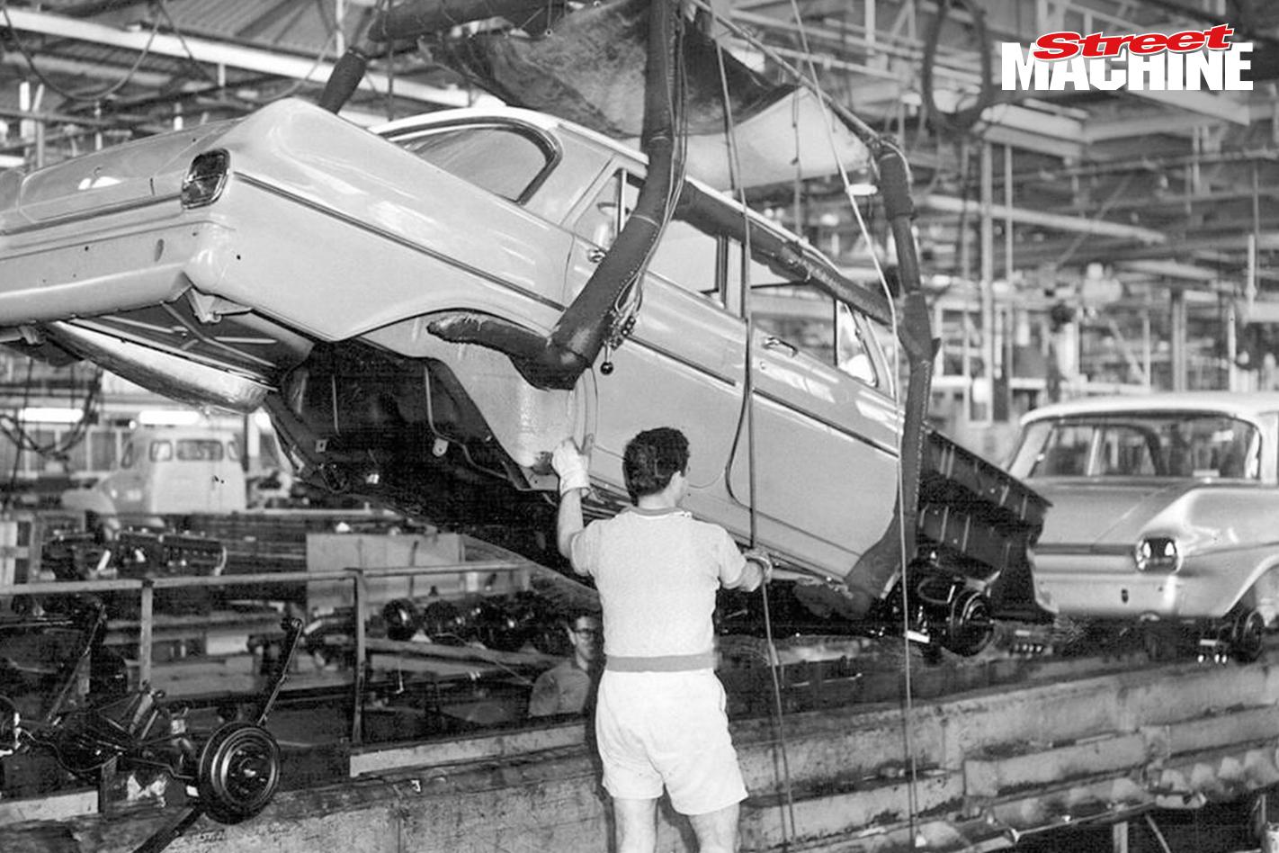 Holden Production EJ