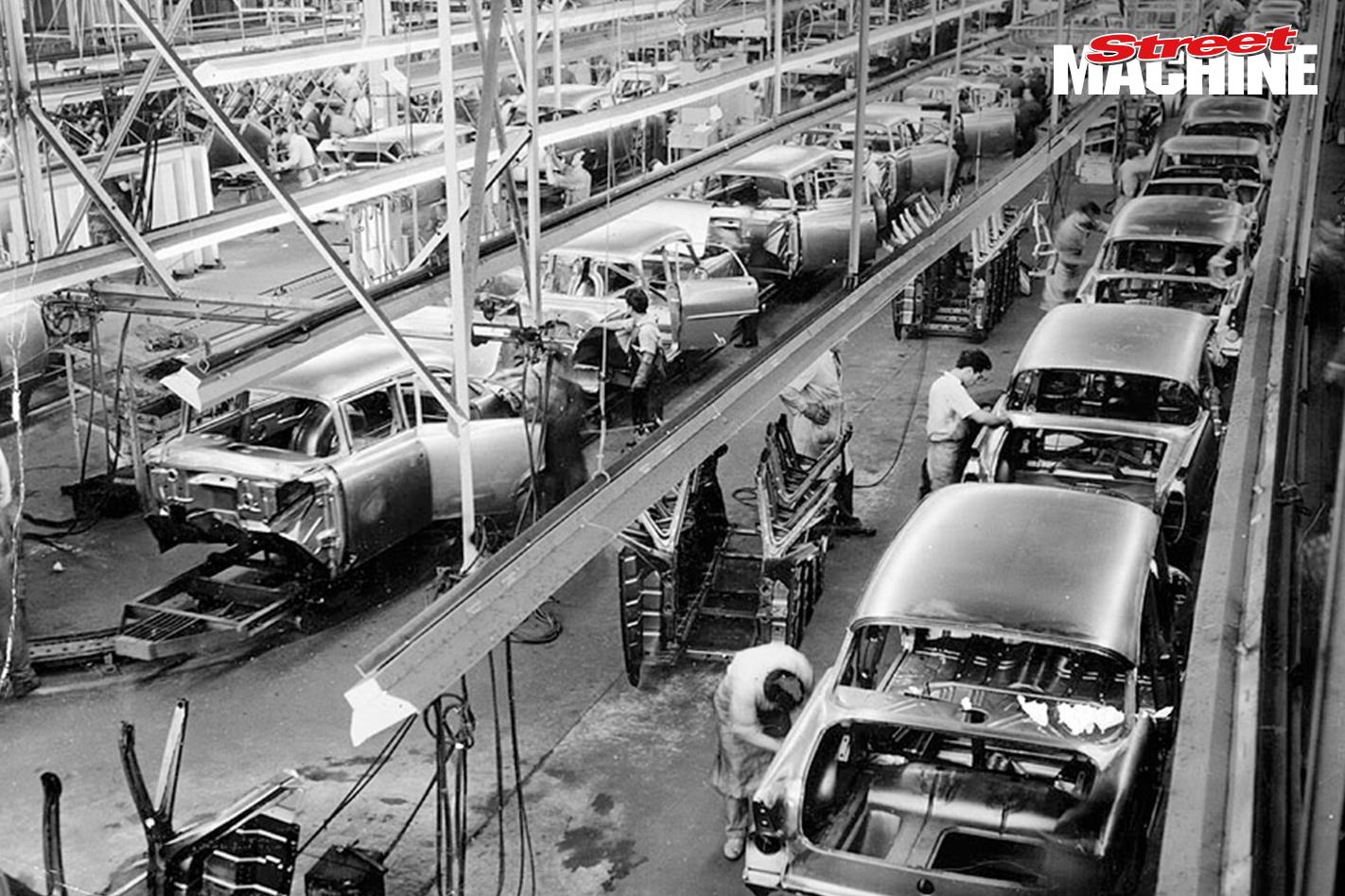 Holden Production EK
