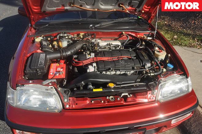 Honda crx engine