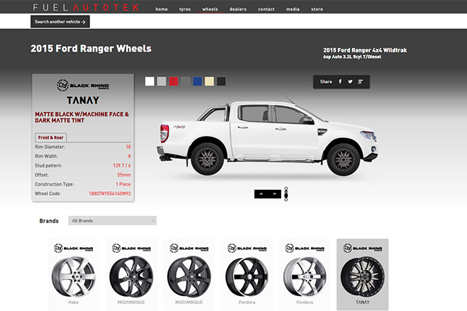 Fuel autotek website