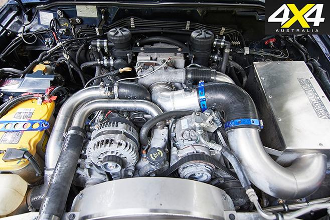 Custom Duramax Nissan GU Patrol engine