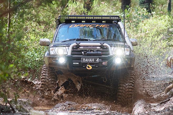 Duramax Nissan GU Patrol -front -mud