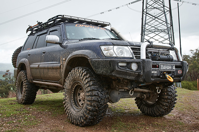 2005 Ford Expedition Off Road >> Custom Duramax Nissan GU Patrol review