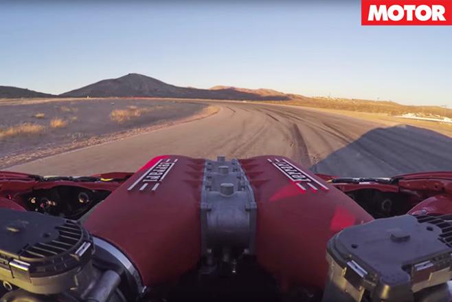 Ferrari Toyota GT4586 engine