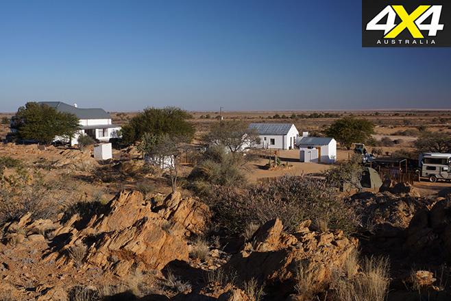 Desert -farmhouses