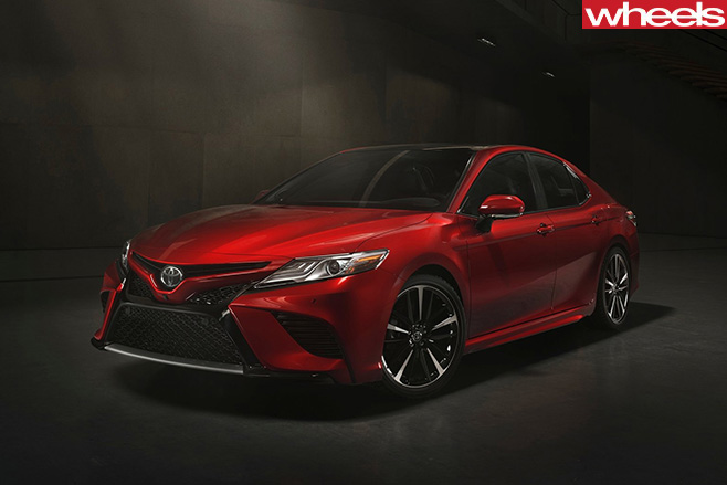2017-Toyota -Camry -red