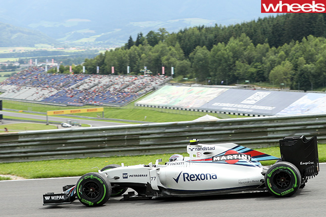 Williams -F1-driving