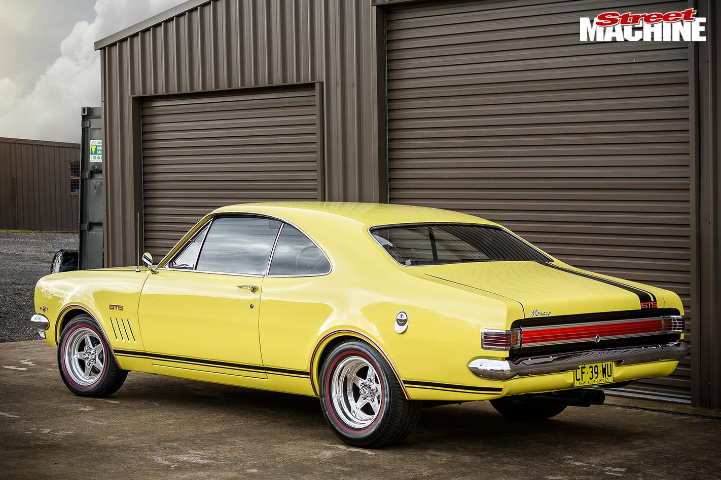 Holden -hk -monaro -rear -angle