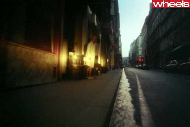 Rendezvous -footage -driving -Paris -streets