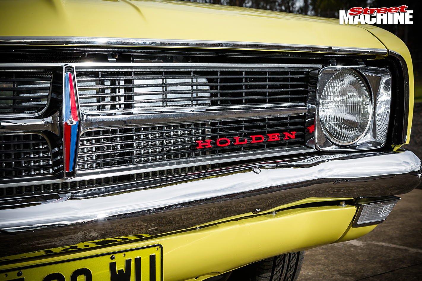 Holden -hk -monaro -front -grille