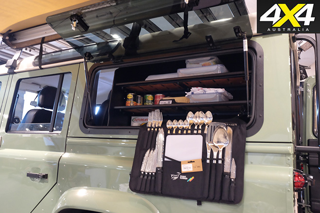 Land Rover equipped