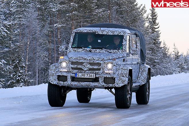Mercedes -Benz -G500-4x 4-ute -front