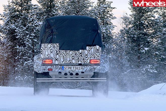 Mercedes -Benz -G500-4x 4-utility -rear