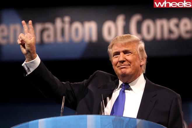 US-President -Donald -Trump