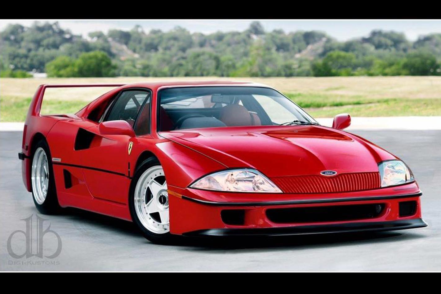 Ferrari ford front