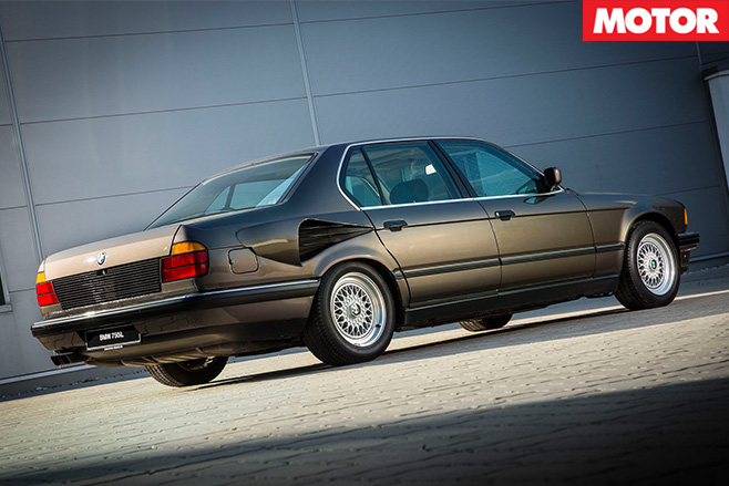 BMW 7 Series V16 rear