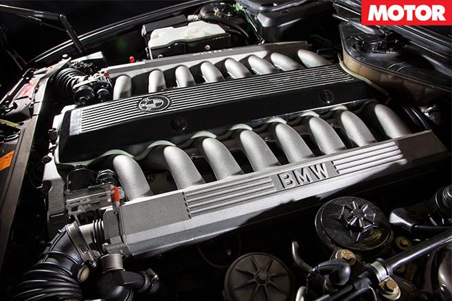 BMW 7 Series V16 manual engine