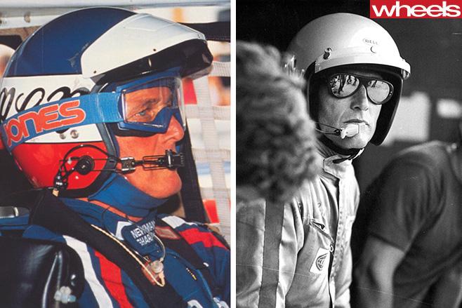 Porsche -driver -Paul -Newman