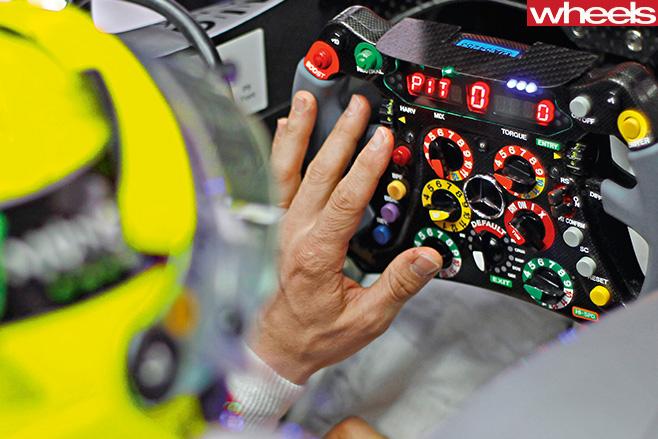 Mercedes -Formula -One -driver -Nico -Rosberg -F1-track