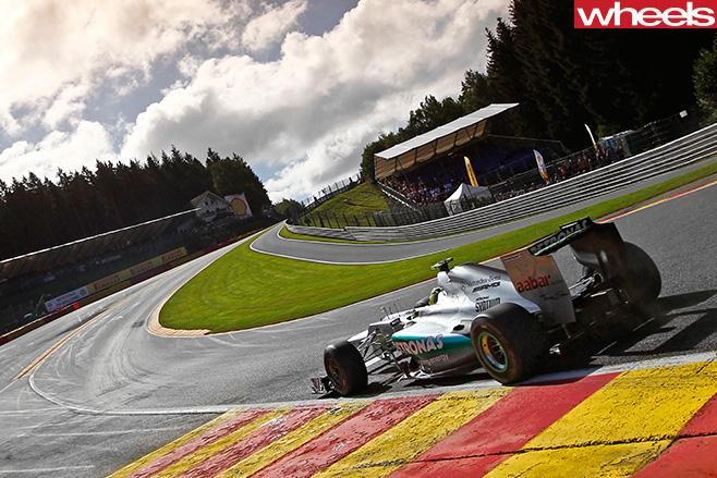 Formula -One -driver -Nico -Rosberg -F1-track