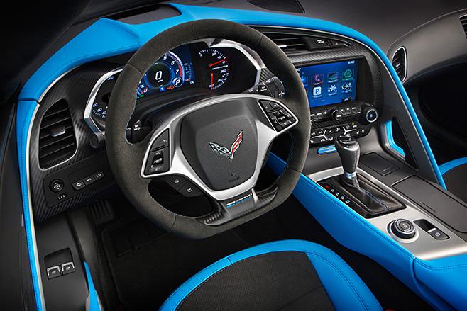 2016-Chevrolet -Corvette -interior