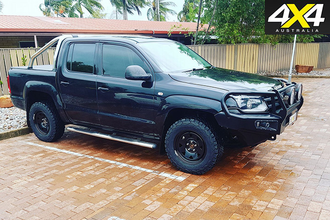 Dallas Pointon VW Amarok Trendline