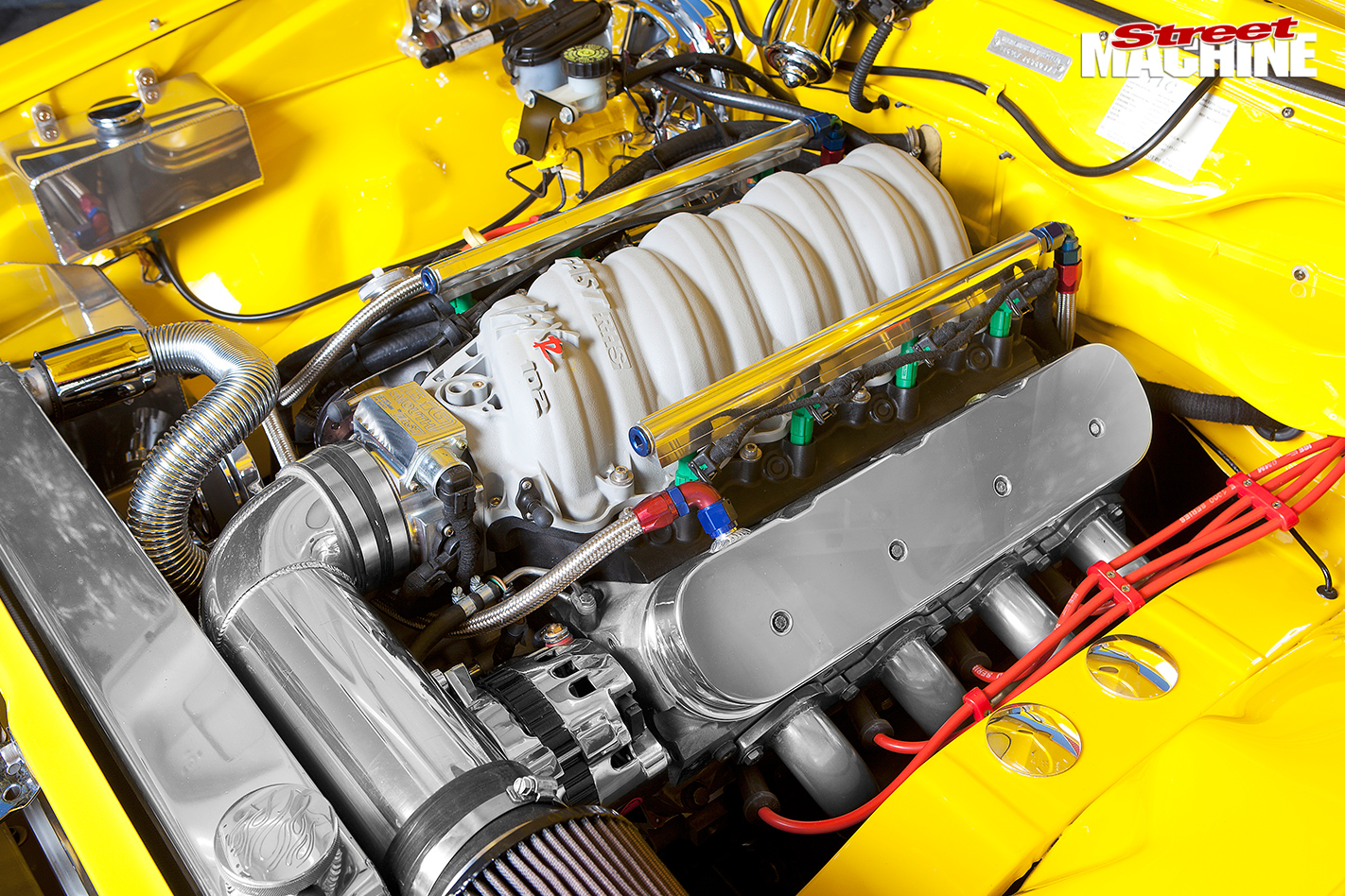Holden -torana -gpak -engine -bay