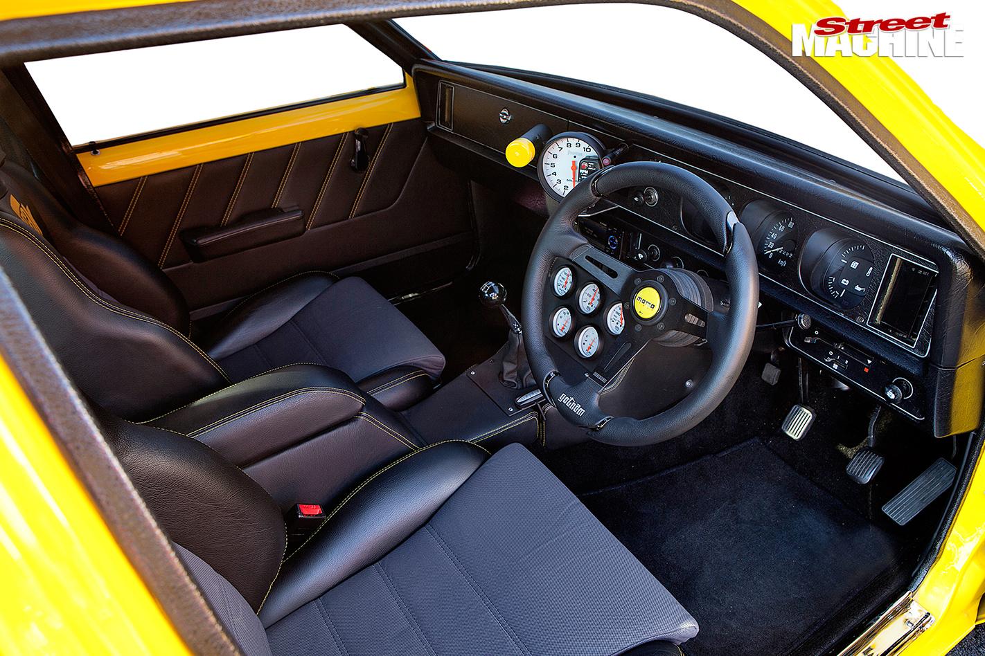 Holden -torana -gpak -interior