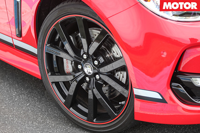 2017  Holden Commodore Motorsport Edition wheel