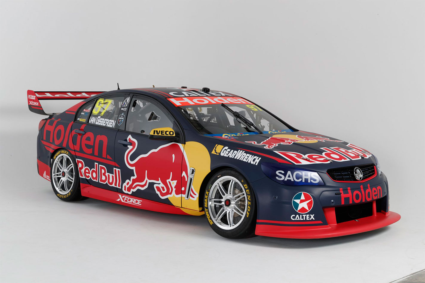 2017 Red Bull Holden Racing Supercar front