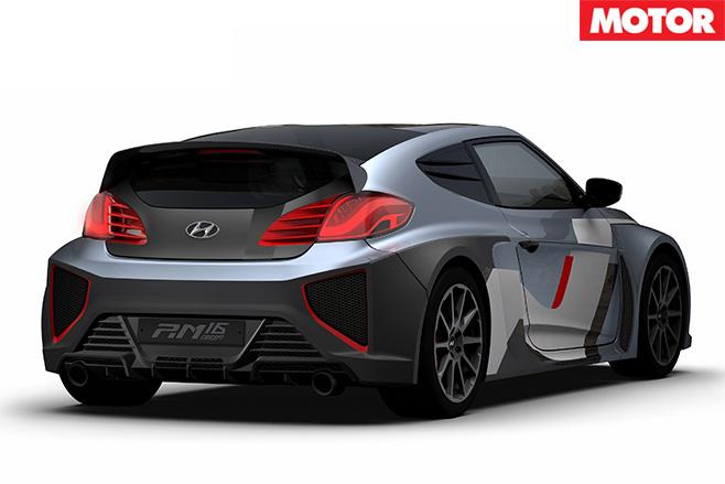 Hyundai RM16 concept rear