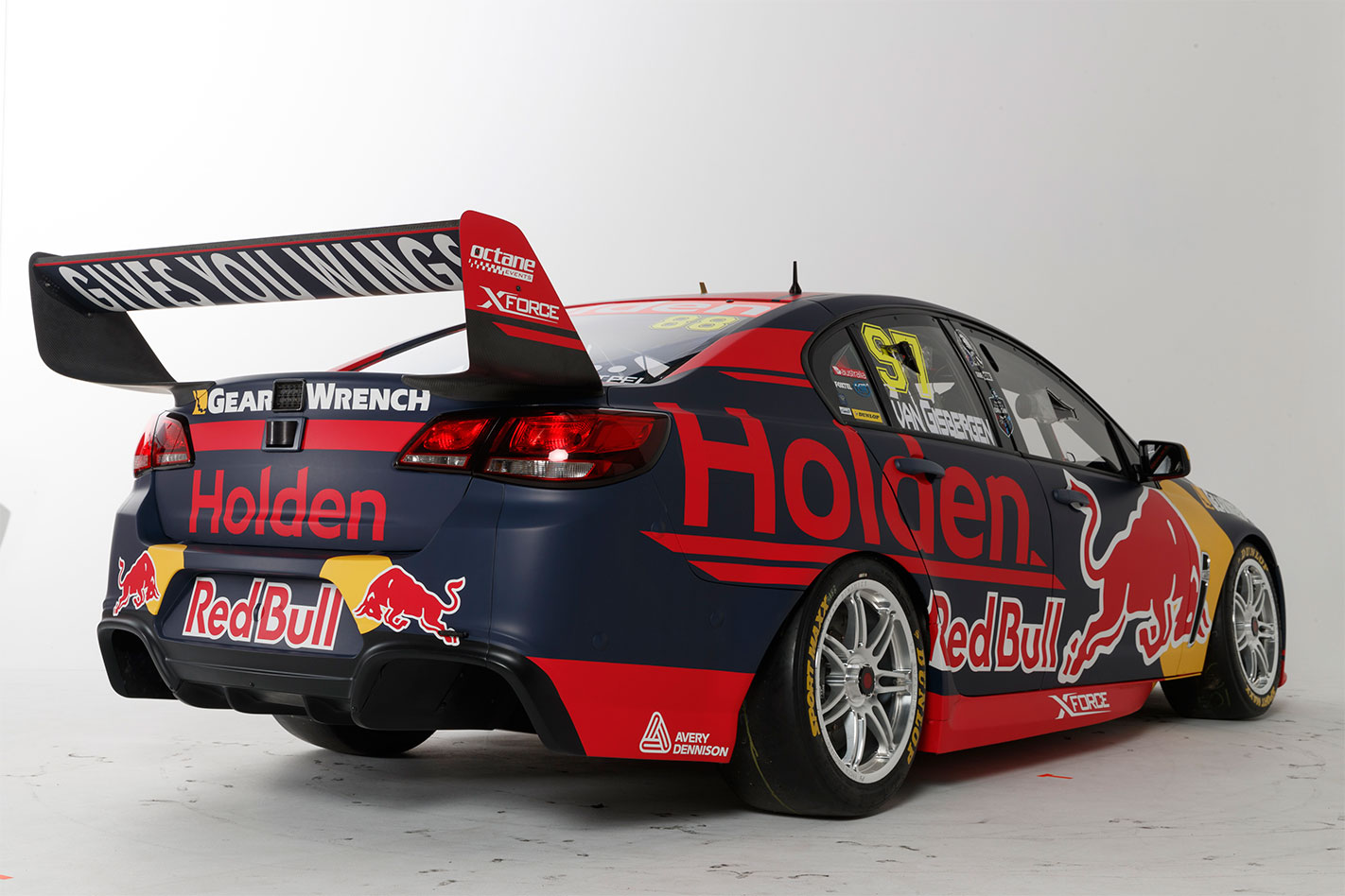 2017 Red Bull Holden Racing Supercar rear