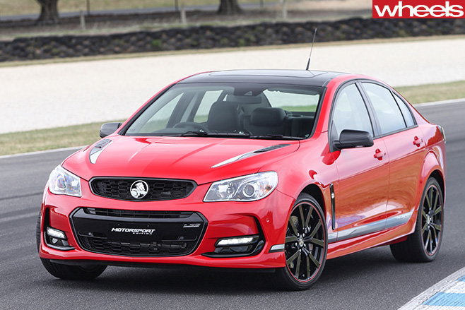 Holden -Commodore -Motorsport -special -edition -front