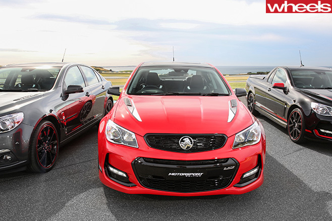 Holden -Commodore -Motorsport -special -edition -fascia