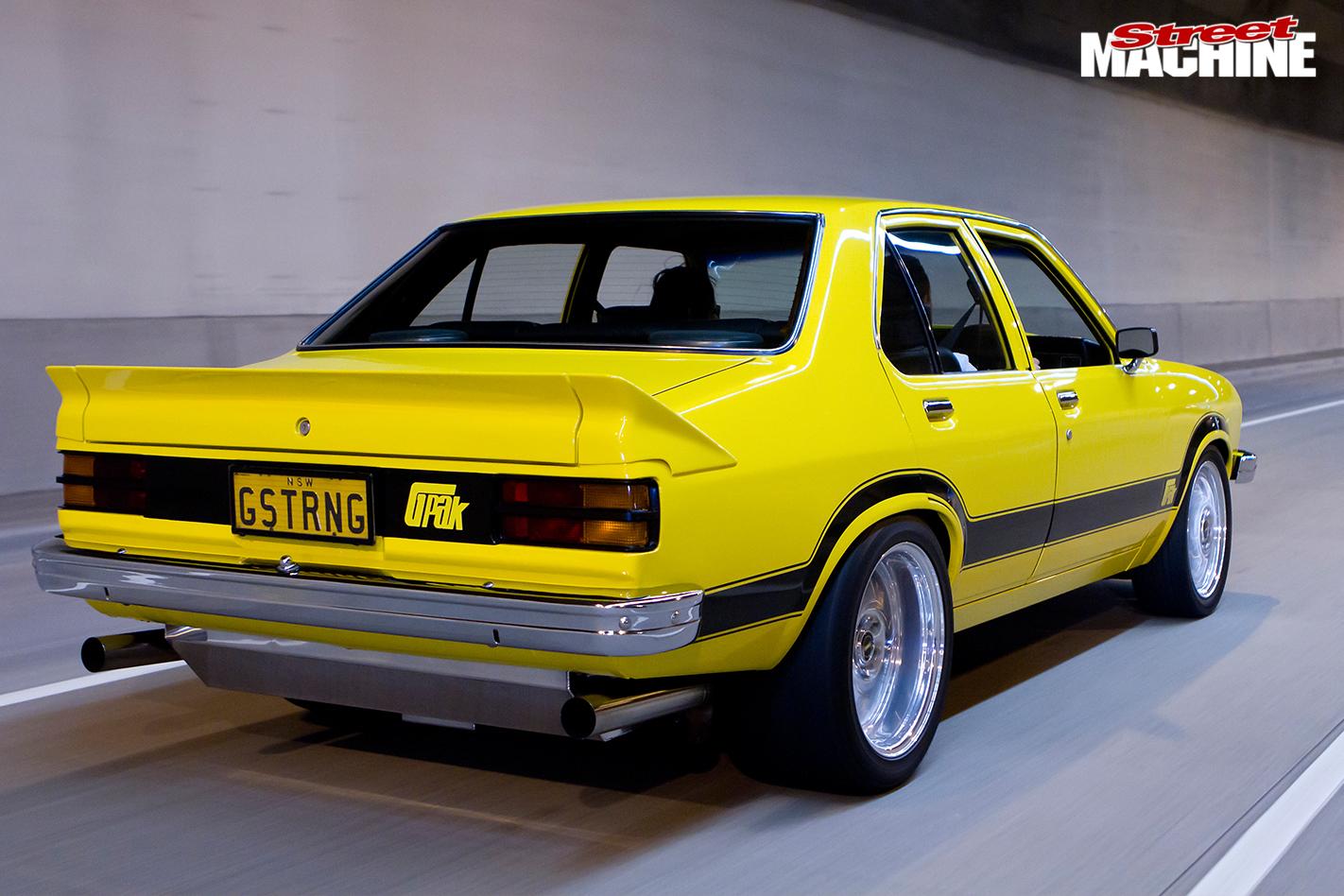 Holden -torana -gpak -rear -onroad