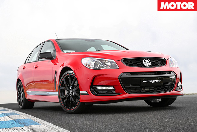 2017 Holden Motorsport Edition front