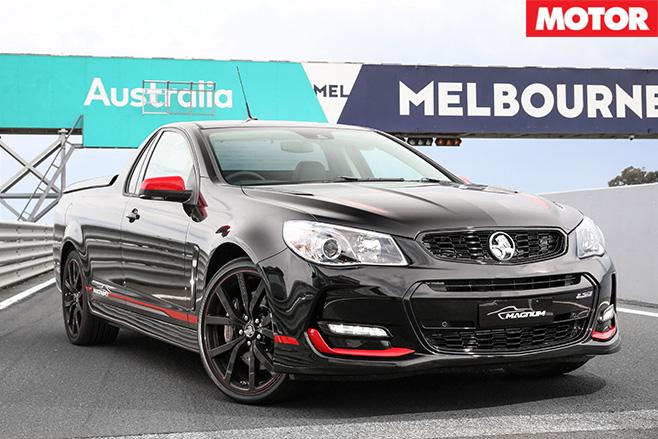 2017 Holden Magnum front