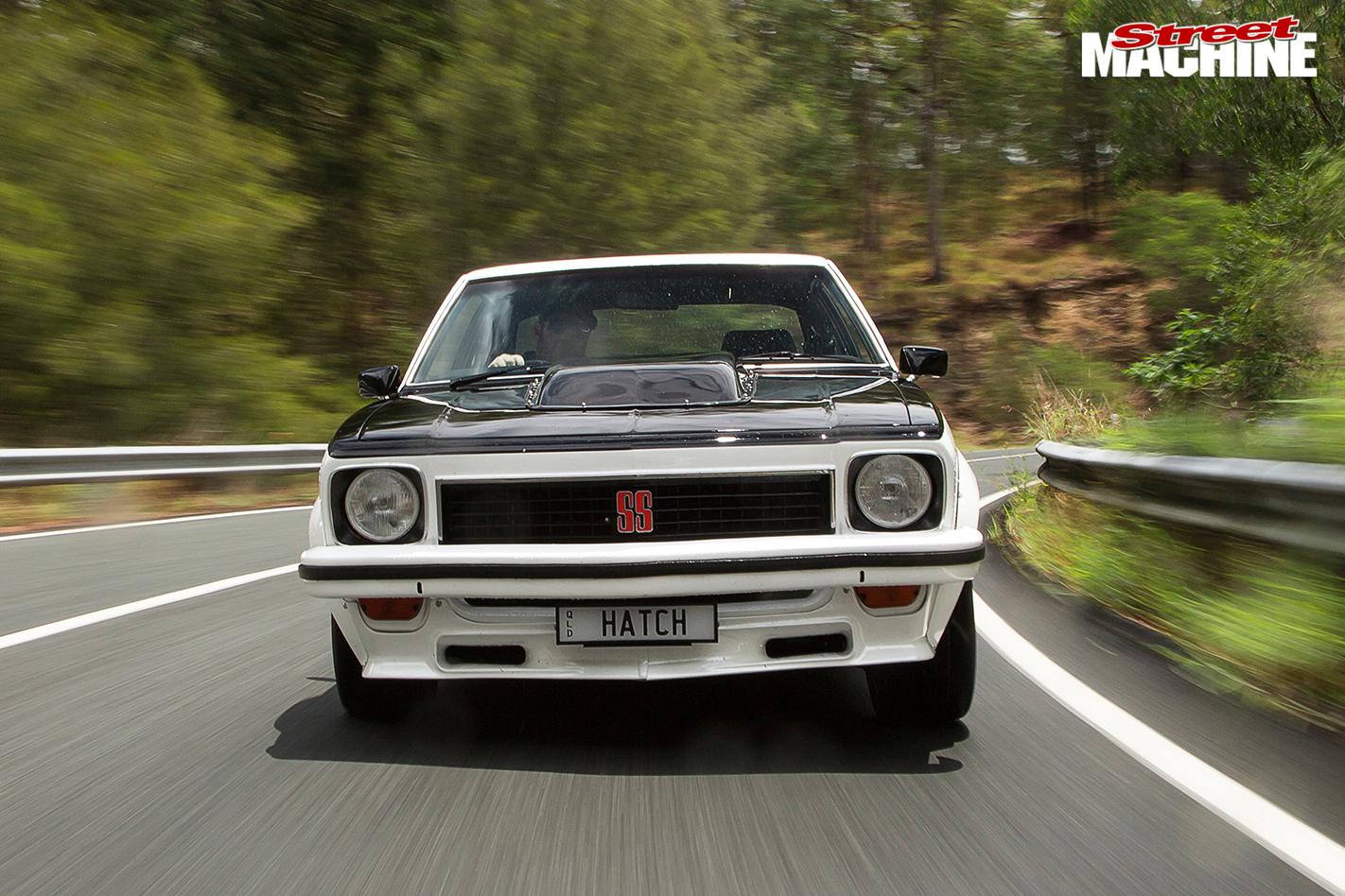 Holden -lx -torana -ss -hatch -front -onroad