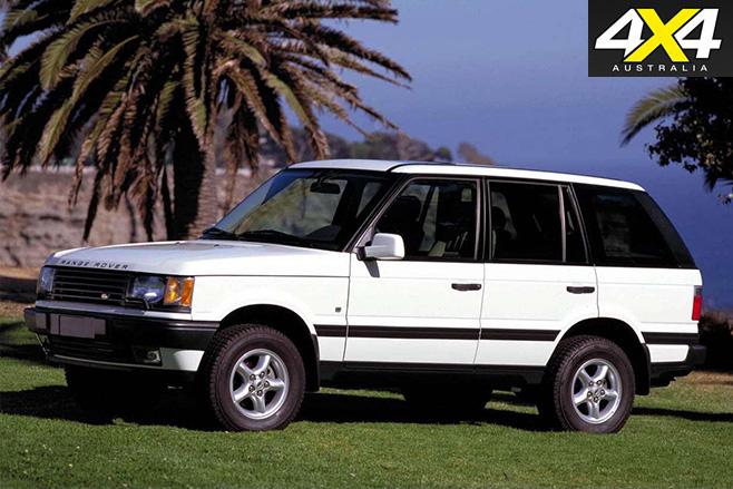 2001 Third-gen Range Rover
