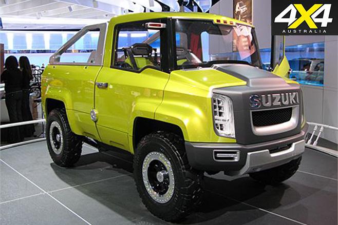 Suzuki X-Head front