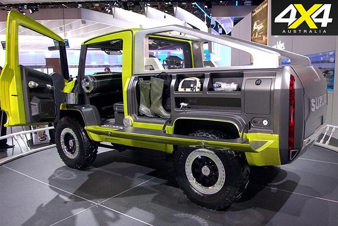 Suzuki X-Head rear