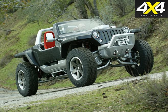 Jeep Hurricane front
