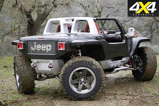 Jeep Hurricane rear
