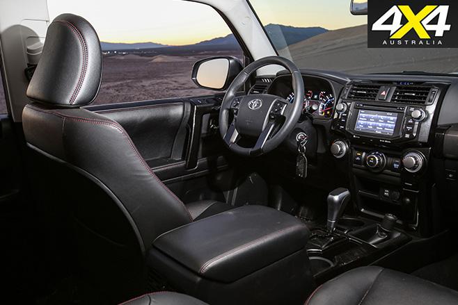 Toyota 4Runner TRD Pro cabin