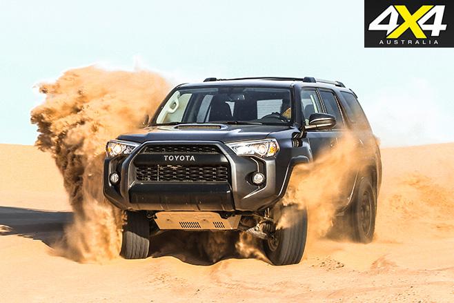 Toyota 4Runner TRD Pro front driving